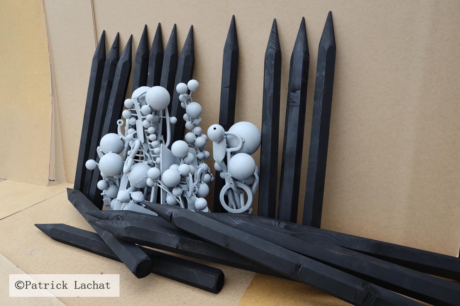 """""""tief durchatmen"""" Installation 2021 Patrick Lachat"""